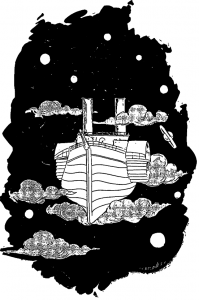 Faure 1 Raum-Schiff